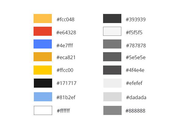 Palette de couleurs Expatriation Allemagne