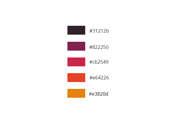 Palette de couleurs Class:Active